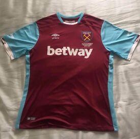 West Ham home shirt 16/17 XXL