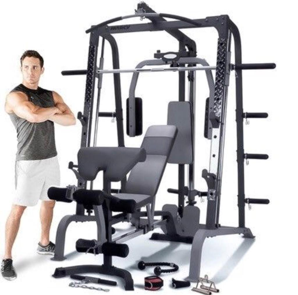 Marcy home gym , Smith machine, workout , weights | in Rottingdean, East  Sussex | Gumtree