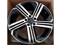 """VW Audi Golf R Twist Style Wheels Available in 18"""""""
