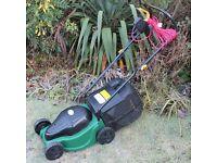 32cm Cut Rotary Lawn Mower - little used