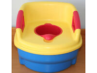 The First Years Toilet Training/Trainer 3-in-1 Potty System, imported from USA!! Excellent condition