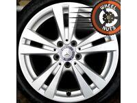 "17"" Genuine alloys VW Golf Caddy Leon A Class premium tyres."
