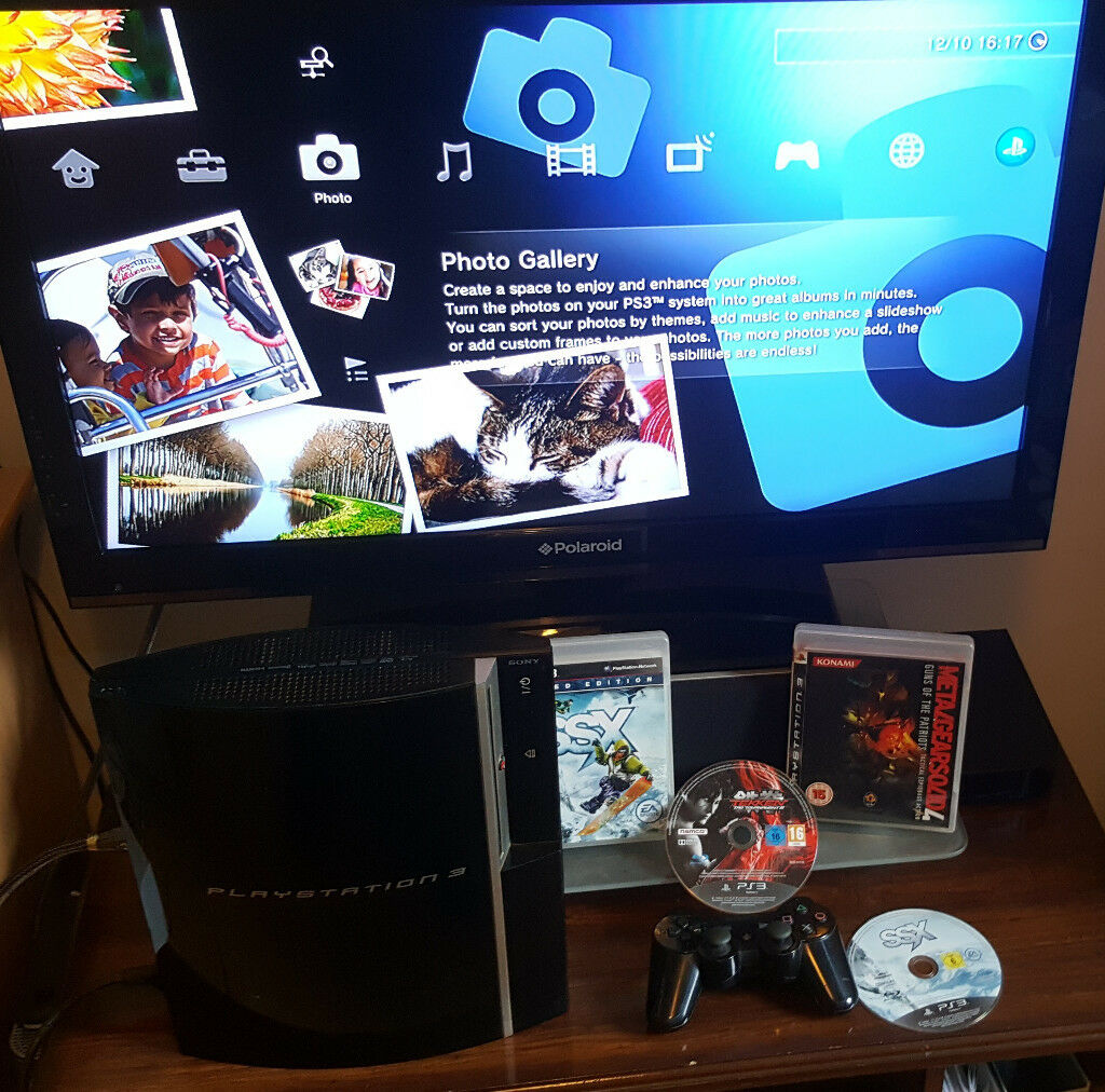 PS3 ,controller, games. Delivery options available.