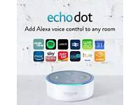 Amazon echo dot white brand new sealed