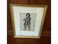 antique 19th century painting, british school