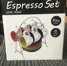 Expresso set with stand