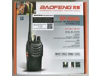4x Baofeng portable two-way radios, like new
