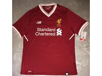 """Brand New LFC Personalised Shirt with """"SINGH"""" and no. """"8"""""""