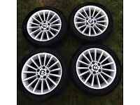BMW 17 inch OEM alloys