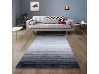 HAND-LOOMED 80% WOOL 20% ARTSILK RUGS. 4 DESIGNS. 3 SIZES. BRAND NEW AND WRAPPED