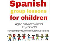 SPANISH LESSONS CHILDREN AND ADULTS
