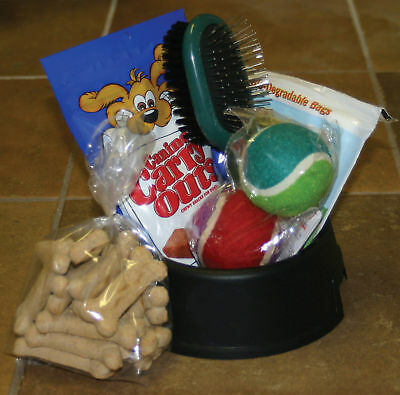 "Dog Bowl ""Basket""  -a gift basket for dogs"