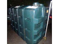 Slimline oil tank holds 1100 litres