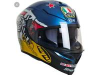 AGV K5 guy Martin motorcycle/motorbike helmet size ML