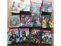 VERY LARGE collection of classic 2000ADs / Judge Dredd Megazines / etc