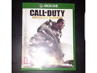 Call of duty Advanced Warfare- Xbox One used- used and in good condition