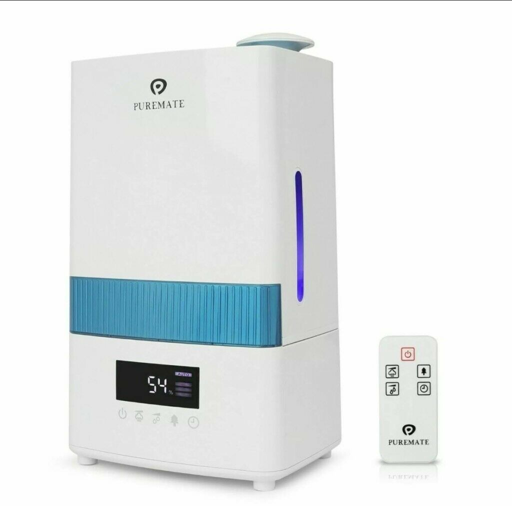 PureMate PM 908 Digital Ultrasonic Cool Mist Humidifier with Ioniser | in East End, Glasgow | Gumtree