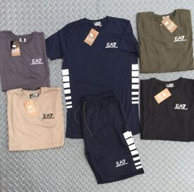 EA7 T-SHIRT & SHORT SET (BRANDNEW)