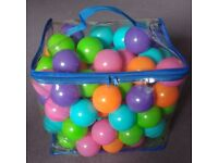 BAG OF PLAY BALLS SUITABLE FOR 12 MONTHS +