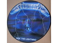 Metallica Ride The Lightning Picture Disc LP