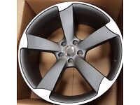 """Audi TTRS Rotors Style Wheels 18"""" *more sizes available*"""
