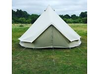 5 metre Ultimate Bell Tent, Festival, Teepee, Tipi, Wigwam, Canvas