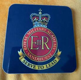 Coasters x 6 - Royal Military Academy (can post)