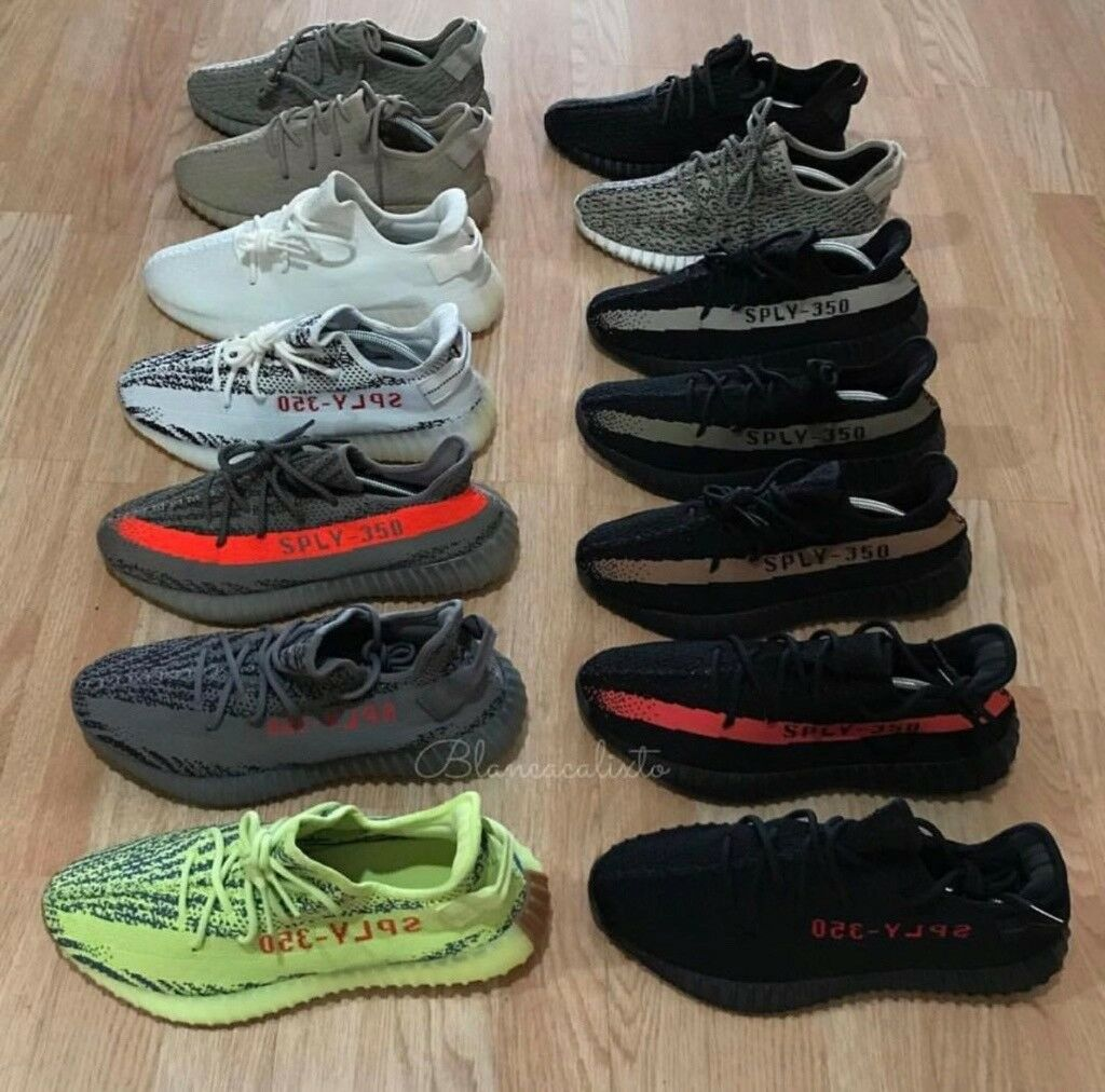 1d0694363ce Adidas Yeezy Boost 350 V1 V2