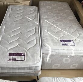 3ft Single bed with pull out guest bed including Headboard