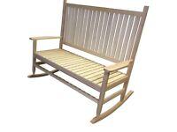 Rocking chair bench - In original packaging!
