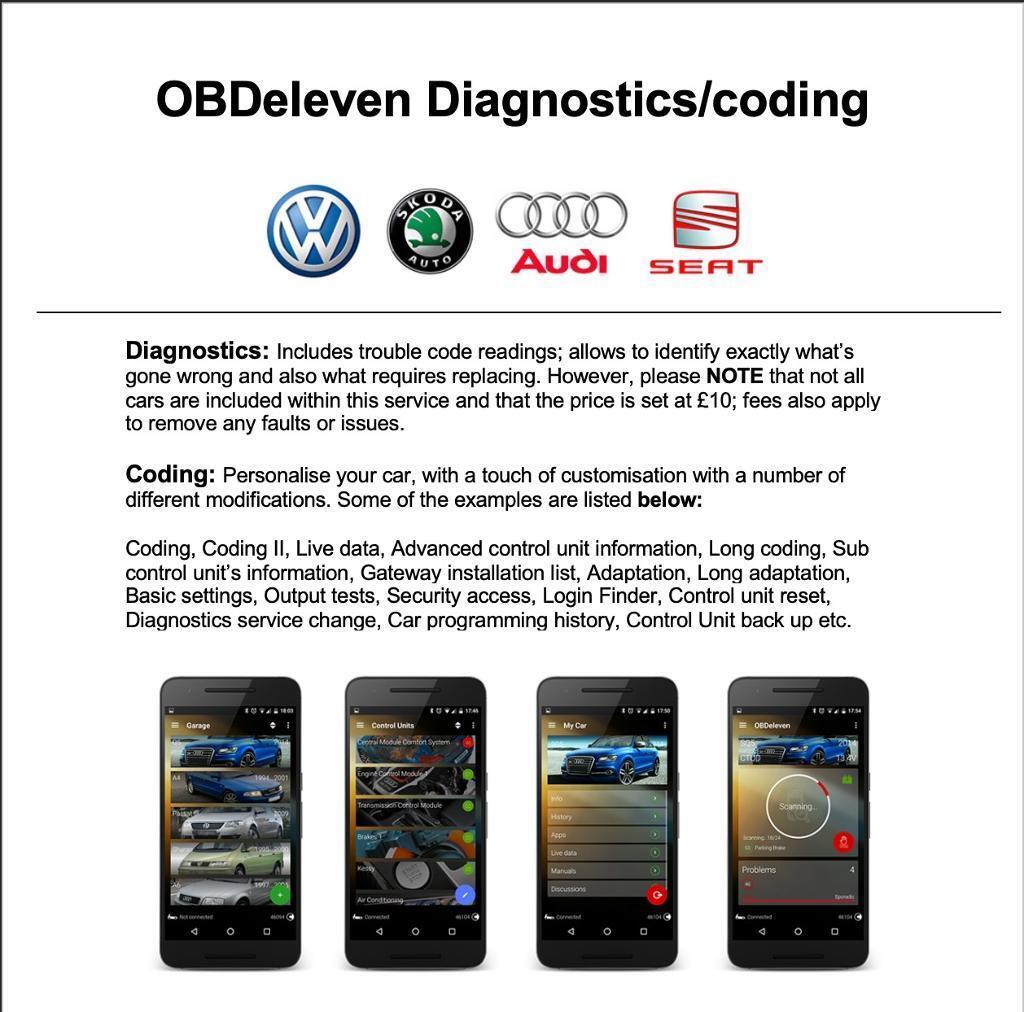 OBDeleven Diagnostics/Coding | in Birmingham, West Midlands | Gumtree