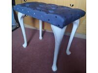 Dressing Table Stool amazing quality RRP £200 blue
