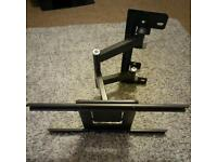 Heavy duty TV bracket wall mount, fully articulating