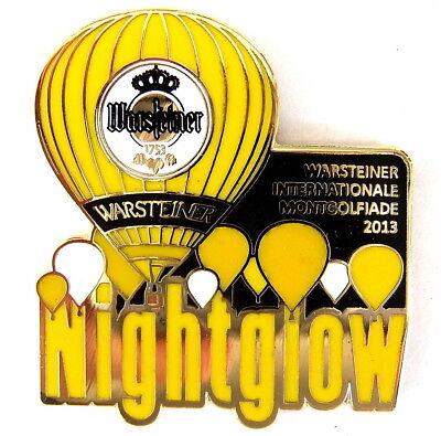 WARSTEINER BALLON Pin / Pins - NIGHT GLOW 2013 (3321)