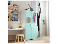SMASTAD Wardrobe, blue