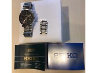 Seiko Kinetic Automatic 100m watch