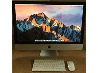 "Apple iMac 27"" 2010, Intel i7 2.93GHz, SSD, Office 2016, Super Fast Machine"