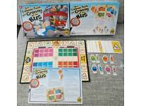 Yes cannae push your granny off a bus board game
