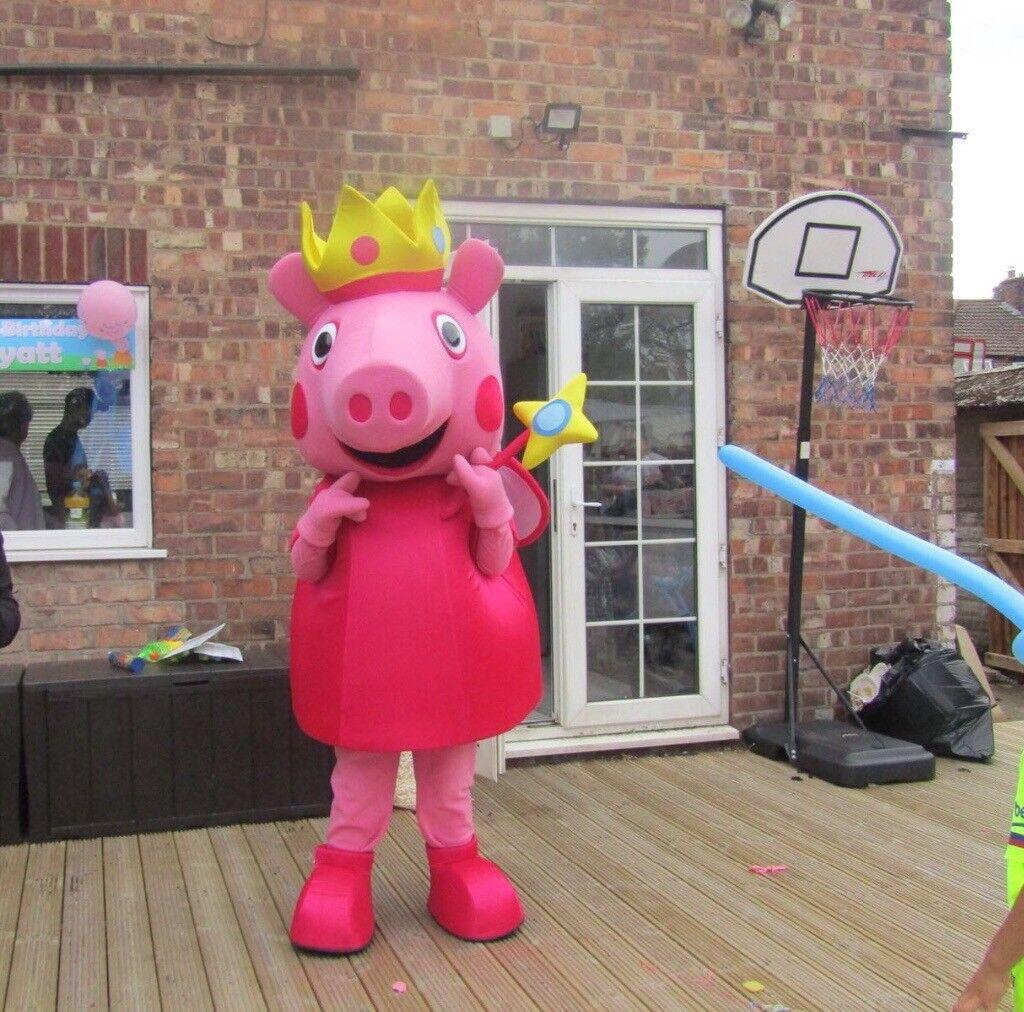Princess Peppa Pig Poppy Troll Minnie Mickey Lookalike Mascots