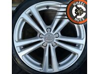 "18"" Genuine Audi A3 S Line alloys Golf Caddy good tyres"