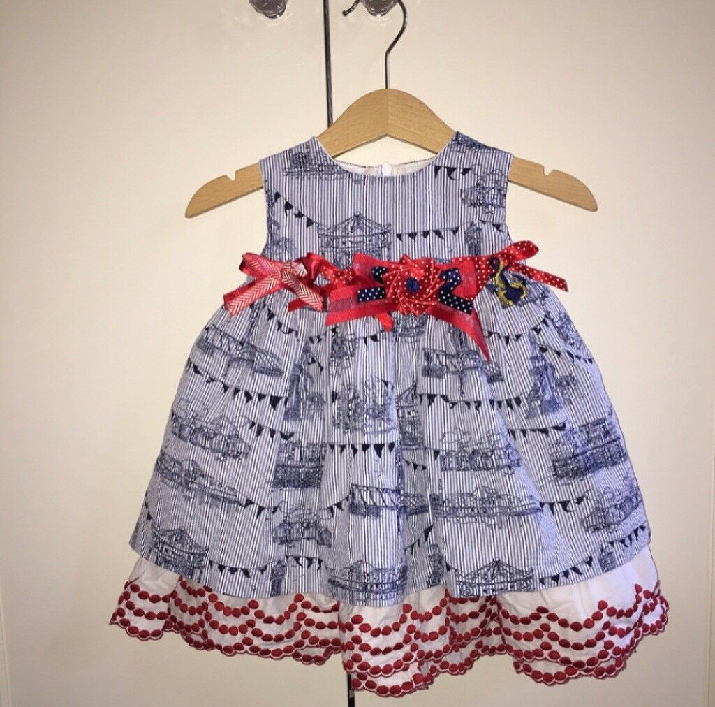 262f5bf6ee823 Little darlings Spanish dress 12months | in Abercynon, Rhondda ...