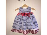 Little darlings Spanish dress 12months