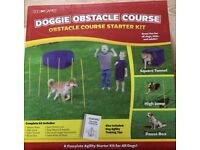 dog games doggie obstacle course starter kit