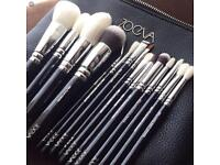 Brand new professional 15 pieces zoeva luxe complete set makeup brushes cosmetics make up brush