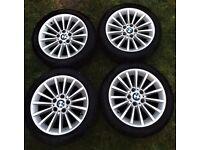 BMW OEM 17 inch alloys