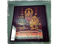 Authentic framed Bollywood film / cinema poster