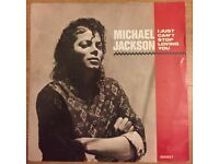 Selection of Michael Jackson records in very good condition