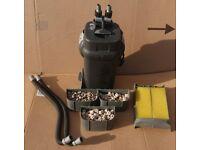 FLUVAL 205 EXTERNAL FILTER FOR FISH TANK / AQUARIUM UPTO 200L