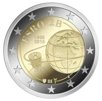 België 2 Euro 2018 Esro-2B Proof