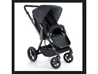 BNIB Black Concorde Wanderer rear and forward facing buggy/Pram